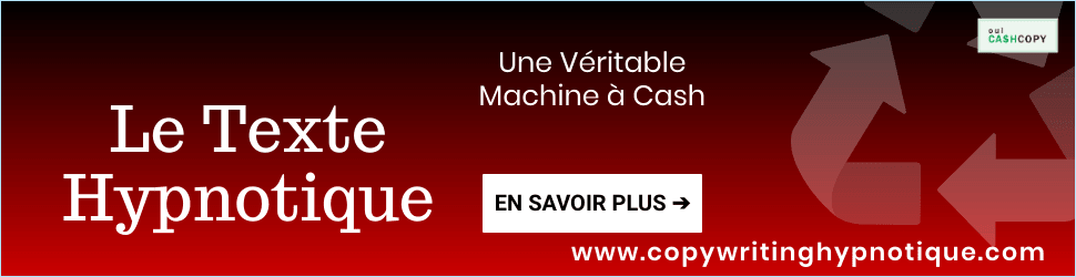 Le Texte Hypnotique Machine à Cash